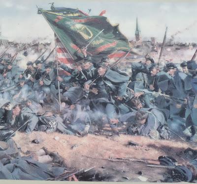 Painting_Irish-Brigade_Fredericksburg