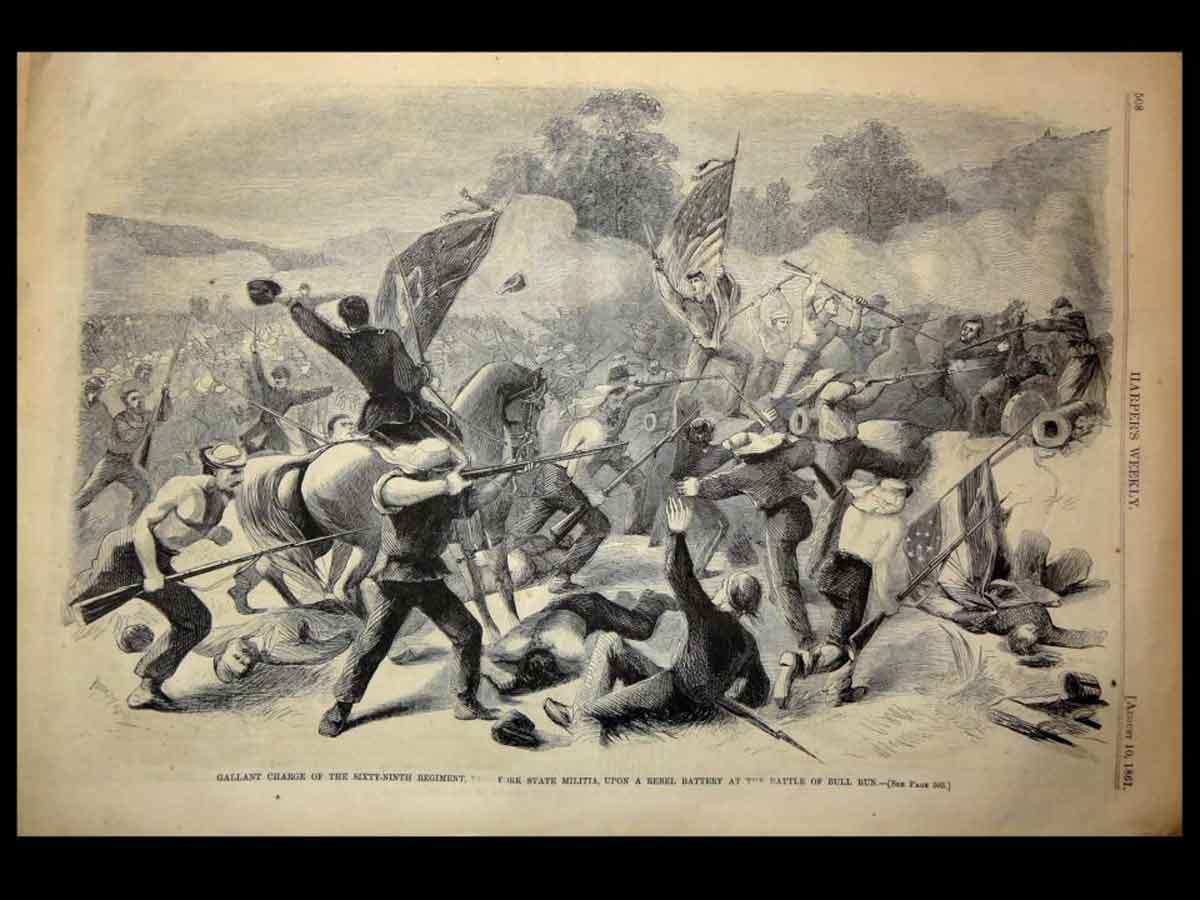 Michael corcoran-bull-run-harpers-8-10-1861