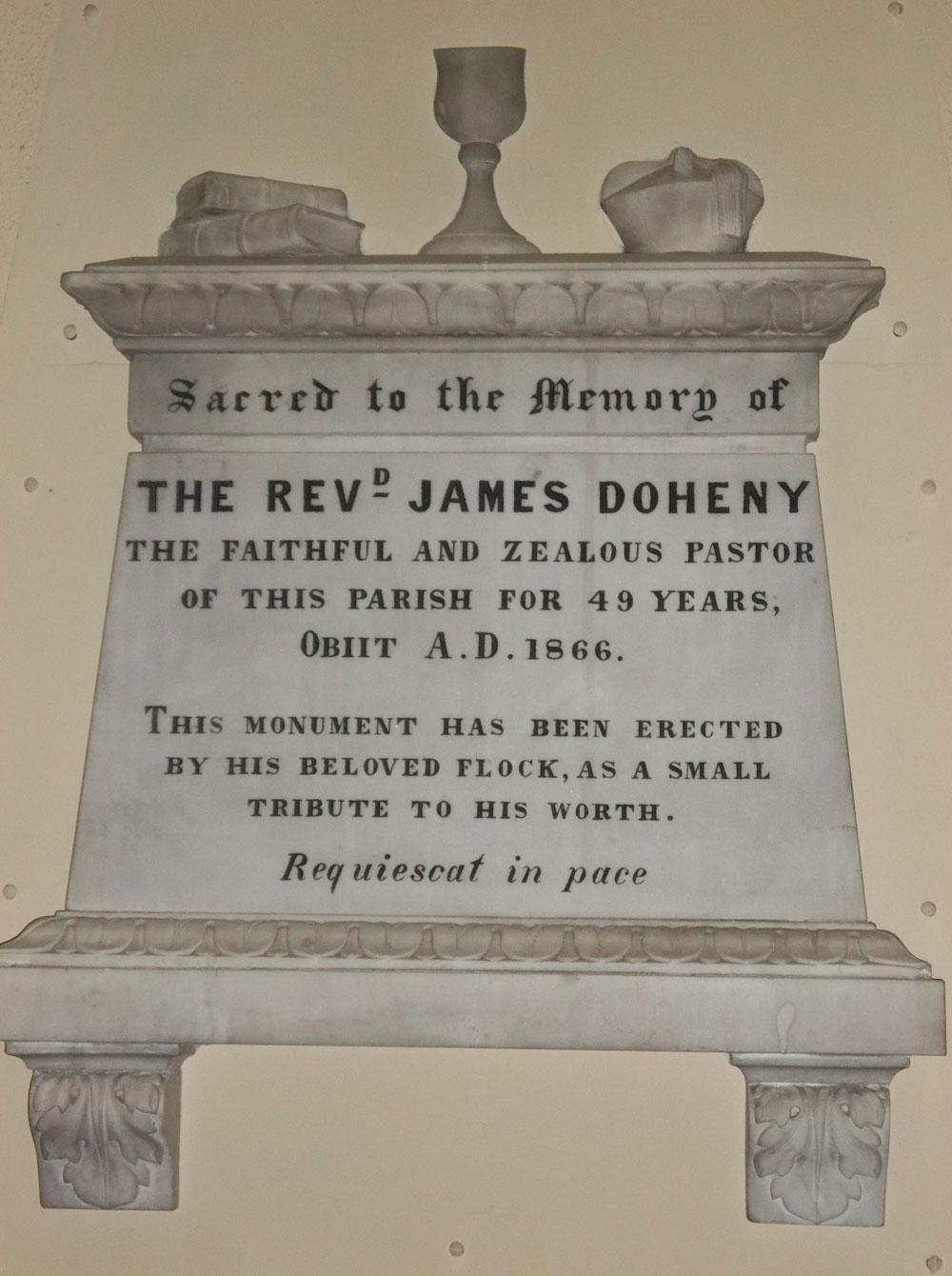 Fr James Doheny – Slieveardagh Rural Development